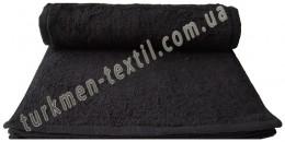 Полотенце 30х30 см черного цвета 420 г/м2