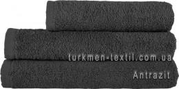 Полотенце 40х70 см темно-серого цвета 500 г/м2