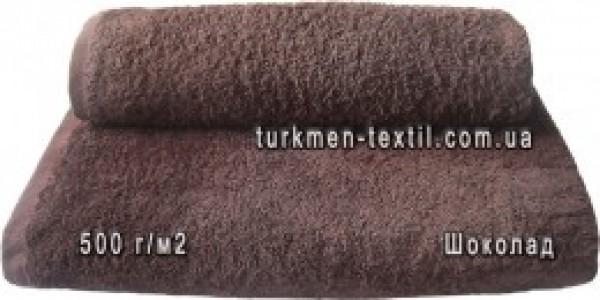 Махровое полотенце 40х70 см шоколадного цвета 500 г/м2