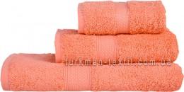 Полотенце 50х70 см грейпфрутового цвета 550 г/м2