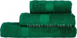 Полотенце 50х70 см зеленого цвета 550 г/м2