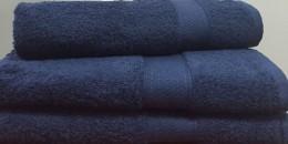 Полотенце 50х100 см индиго цвета 550 г/м2